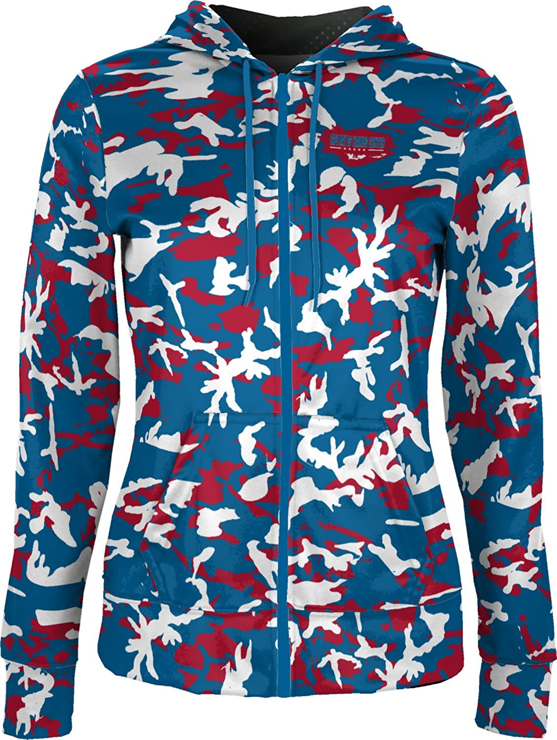 ProSphere Women's Cape May CG Training Center Military Camo Fullzip Hoodie