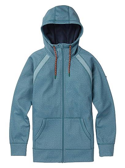 528f6b969ea Amazon.com  Burton Women s Crown Bonded Full-Zip Hoodie  Clothing