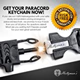 Ultimate 5-in-1 Paracord Keychain with Carabiner