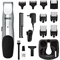Wahl 9916-4301 Beard and Mustache Trimmer, Cordless Rechargeable Facial Hair Trimmer with 5 Length Settings