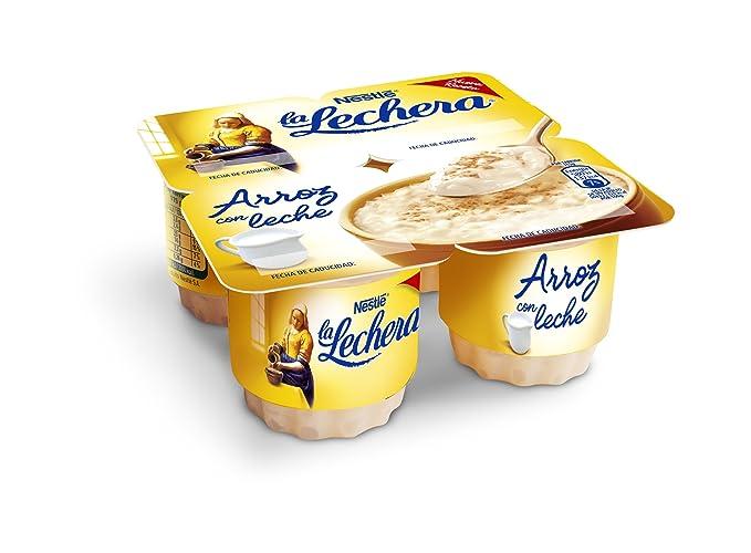 La Lechera, Postre lácteo (Limón y canela) - 4 de 115 ml.
