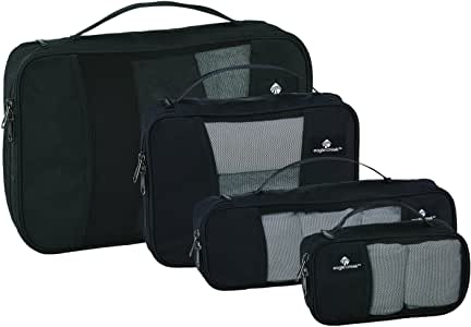 Eagle Creek Pack-It Cube Set with Slim Tube Cube, Black