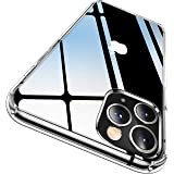 CASEKOO Crystal Clear Designed for iPhone 11 Pro Max Case, [Not Yellowing] [Military Grade Drop Tested] Shockproof Protective