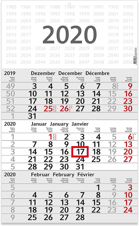 Geiger-Notes - Calendario Trimestrale \budget 3\', 41 Pezzi