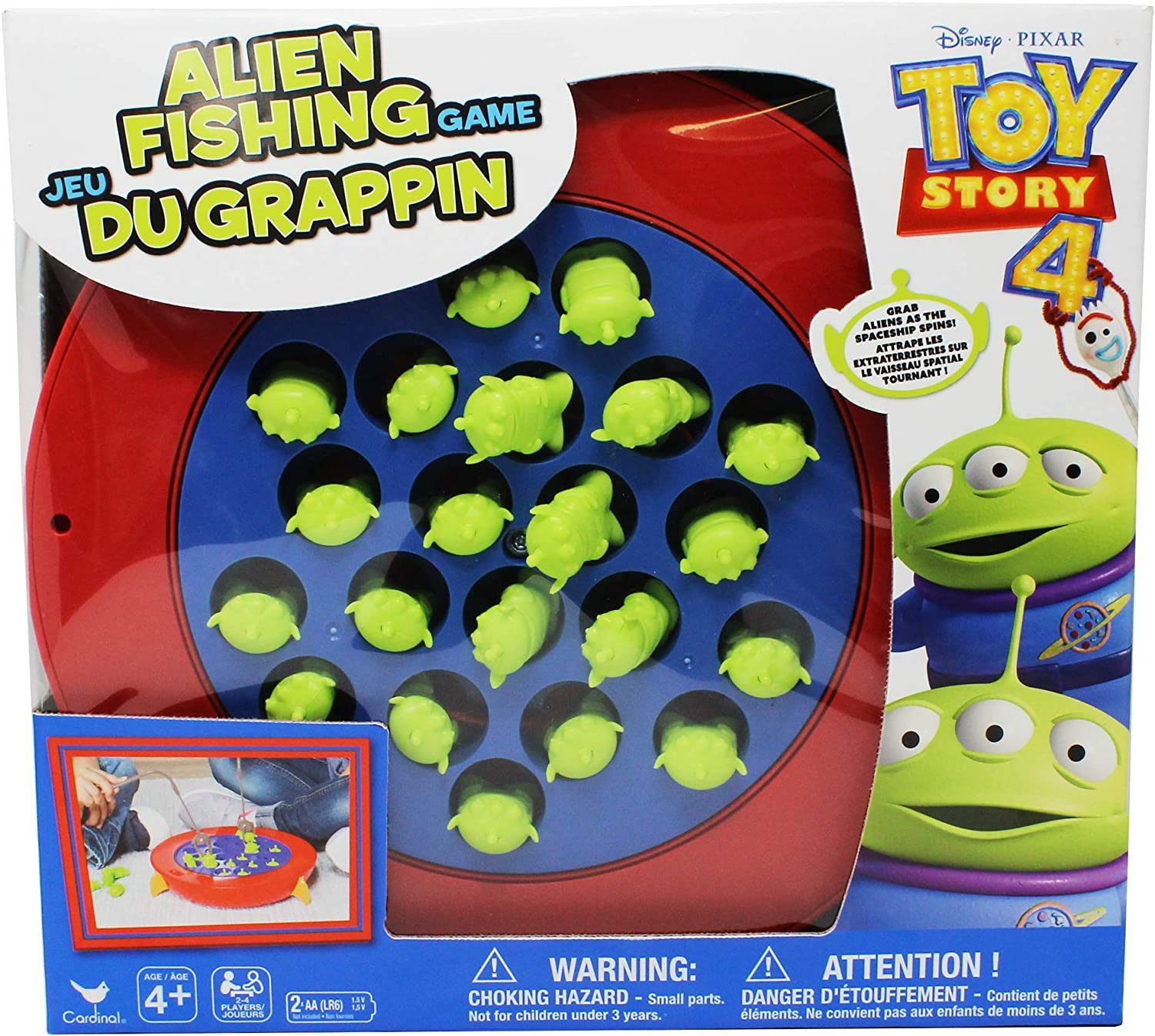 Disney Pixar Toy Story 4 Alien Fishing Game 60% OFF £6 @ Amazon