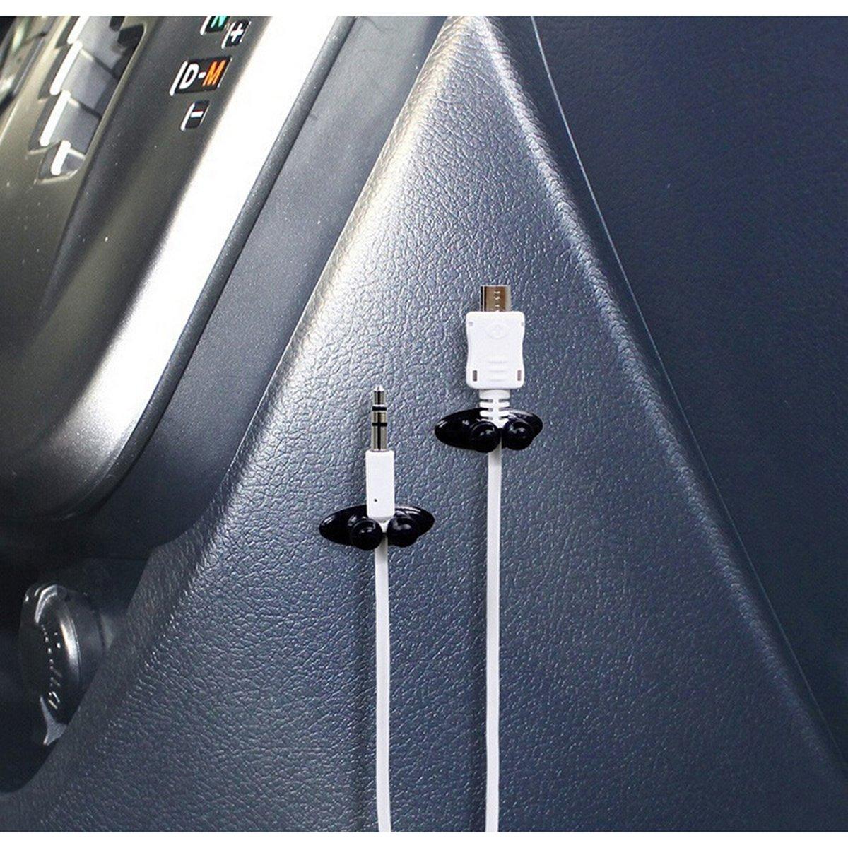 WINOMO 8 Stücke Auto Kabel Clip Auto Ladegerät Halterungen ...