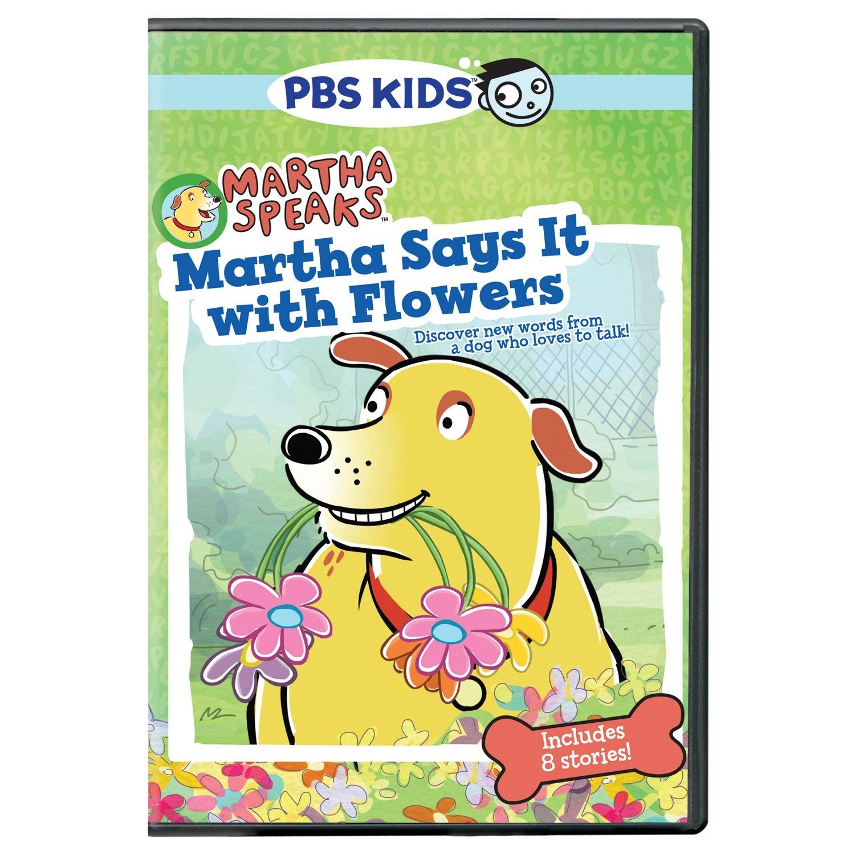 amazon com martha speaks martha says it with flowers dallas