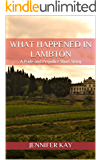 What Happened in Lambton: A Pride and Prejudice Short Story