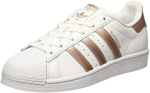 adidas Women's Superstar W Low-Top Sneakers White: Amazon.co ...