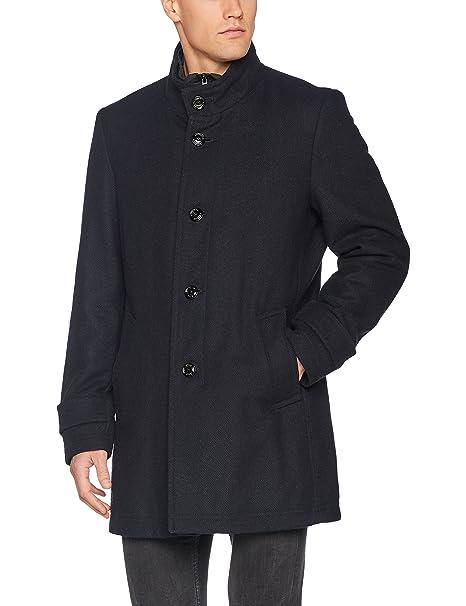 LABEL Amazon Abbigliamento Oliver Uomo it Cappotto BLACK s pqExzX0x