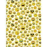 Creative Converting Show Your Emojions Plastic Photo Backdrop, 72 x 54-, Multicolor