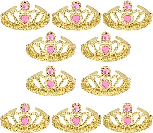 Amazon.com: XiangGuanQianYing Tiara de princesa con corona y ...