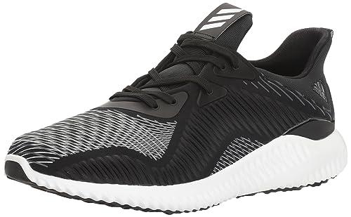 adidas Performance Men's Alphabounce Hpc Running Shoe, Black/Utility Black/ White, 7
