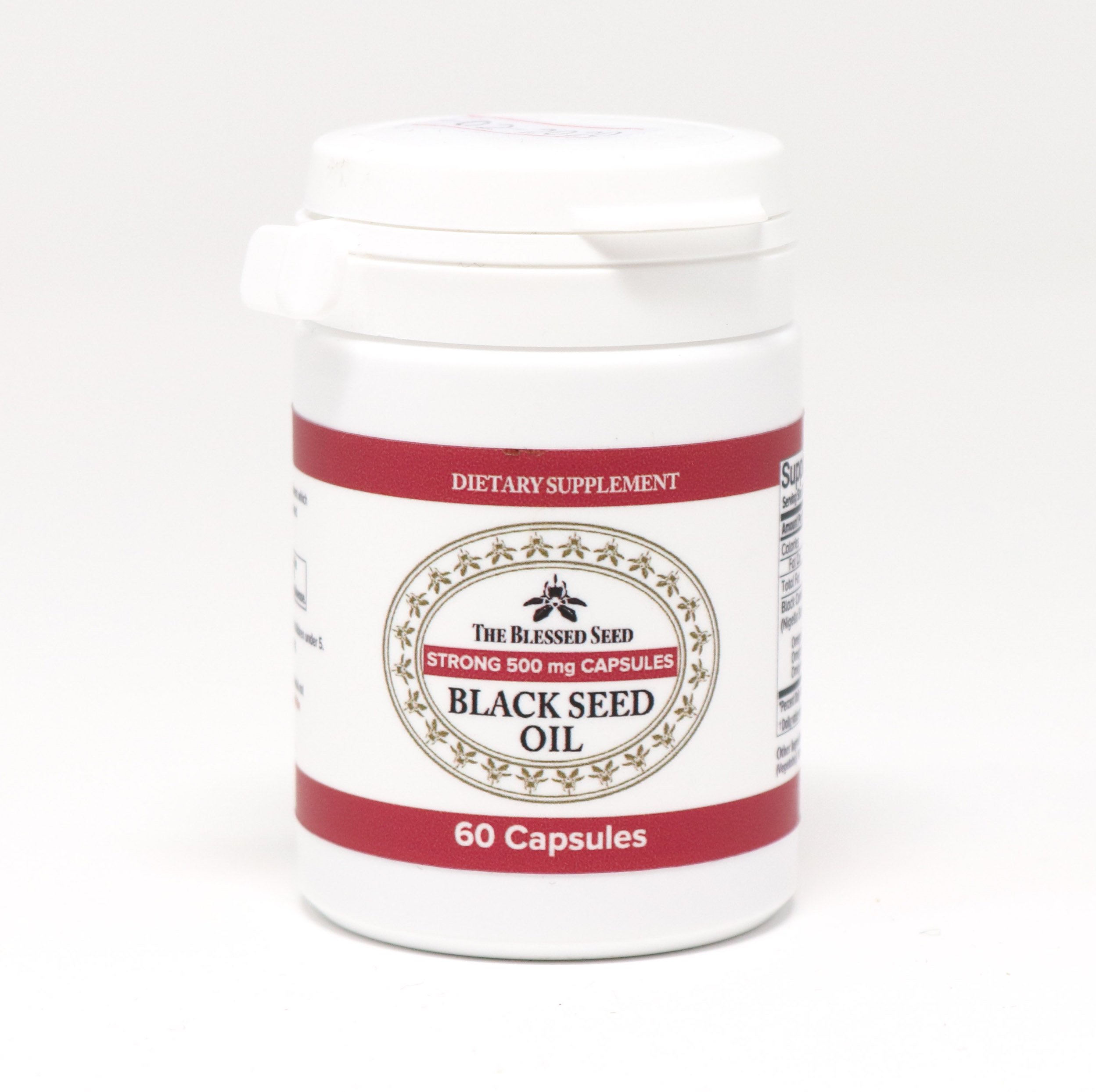 Learn These Viridian Organic Black Seed Oil Capsules {Swypeout}