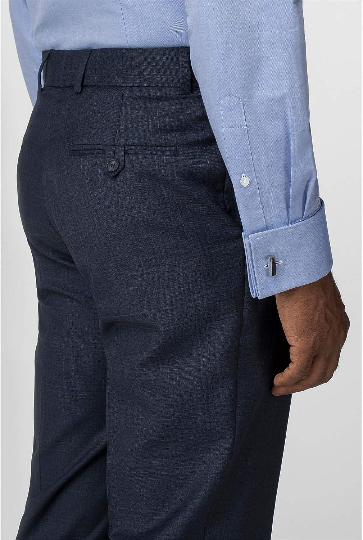 Pierre Cardin Mens Blue Suit Trouser in 32R to 48R