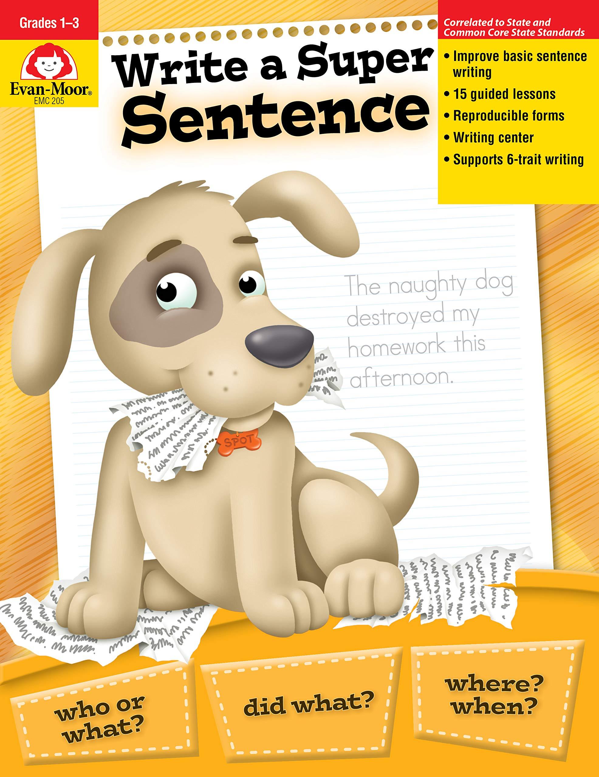 Book write a super sentence dirt bikes essays
