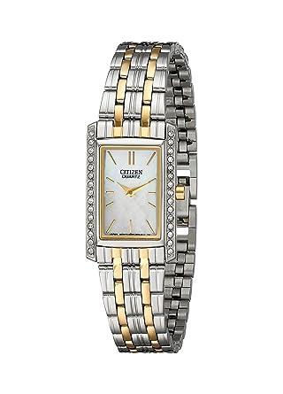 Citizen Women S Quartz Watch With Crystal Accents Ek1124 54d
