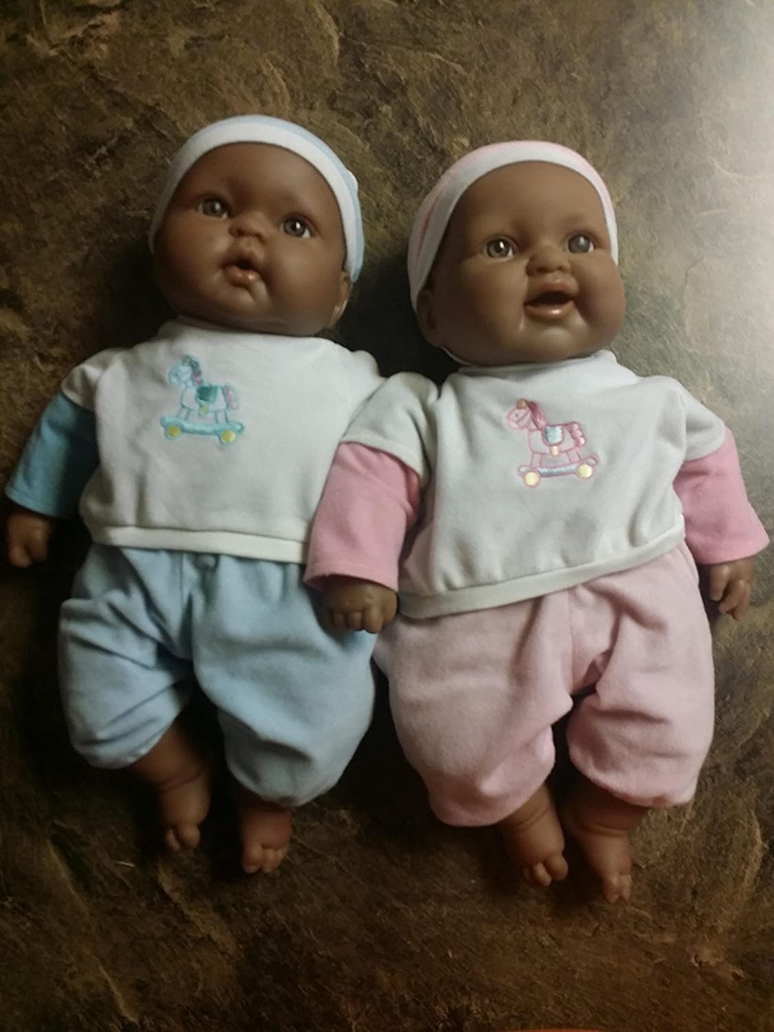 Berenguer african american black twin baby dolls lots to cuddle babies dolls amazon canada