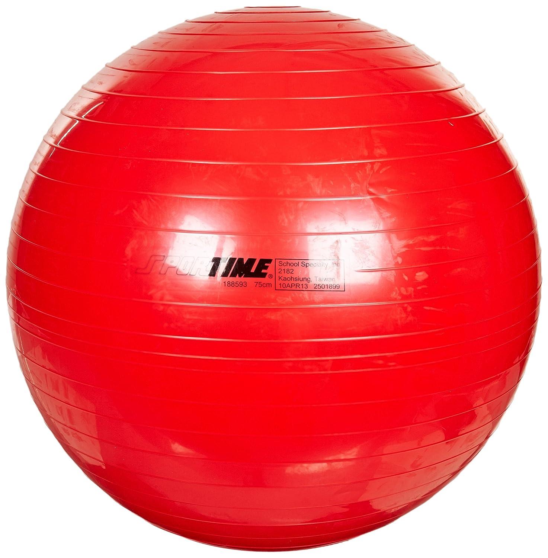 Sportime – Therapie und Gymnastikball – 29 1/5,1 cm – Sportime Rot 9a4b4a