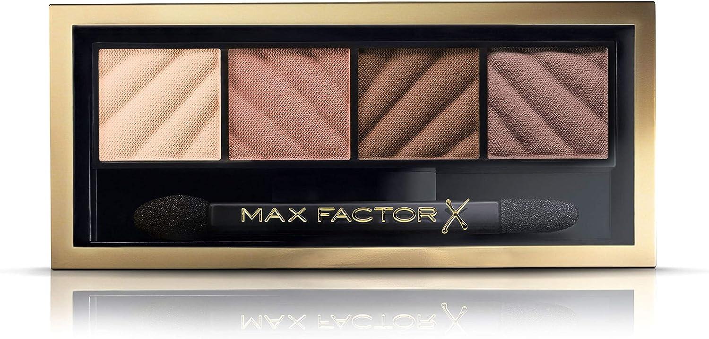 Max Factor Smokey Eye Drama Kit Paleta de Sombras Tono 10 Alluring Nudes - 26 gr