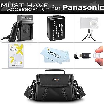 Recambio batería cargador de carga rápida para Panasonic Lumix dmc-fz40 dmc-fz47 dmc-fz45