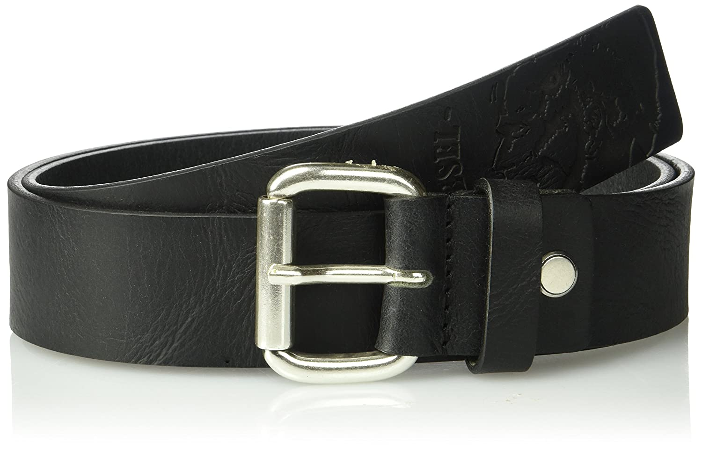 Diesel Mens Profiles Leather Belt