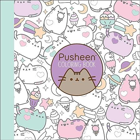 Libro de colorear de Pusheen: Amazon.es: Oficina y papelería