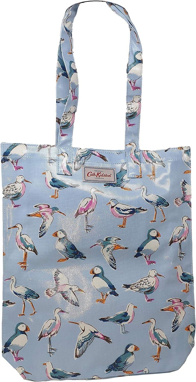 Cath Kidston - Bolsa de Tela para Libros, diseño de pájaros, Color Azul: Amazon.es: Equipaje
