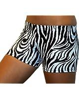 Gem Gear Zebra Spandex Shorts 2.5 in. Inseam 12 colors