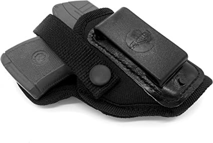 Loop Gun Holster for RUGER LCP 380 Made In USA Black LEFT Hand Draw Belt Clip