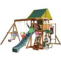 KidKraft Newport Wooden Swing Set/Playset