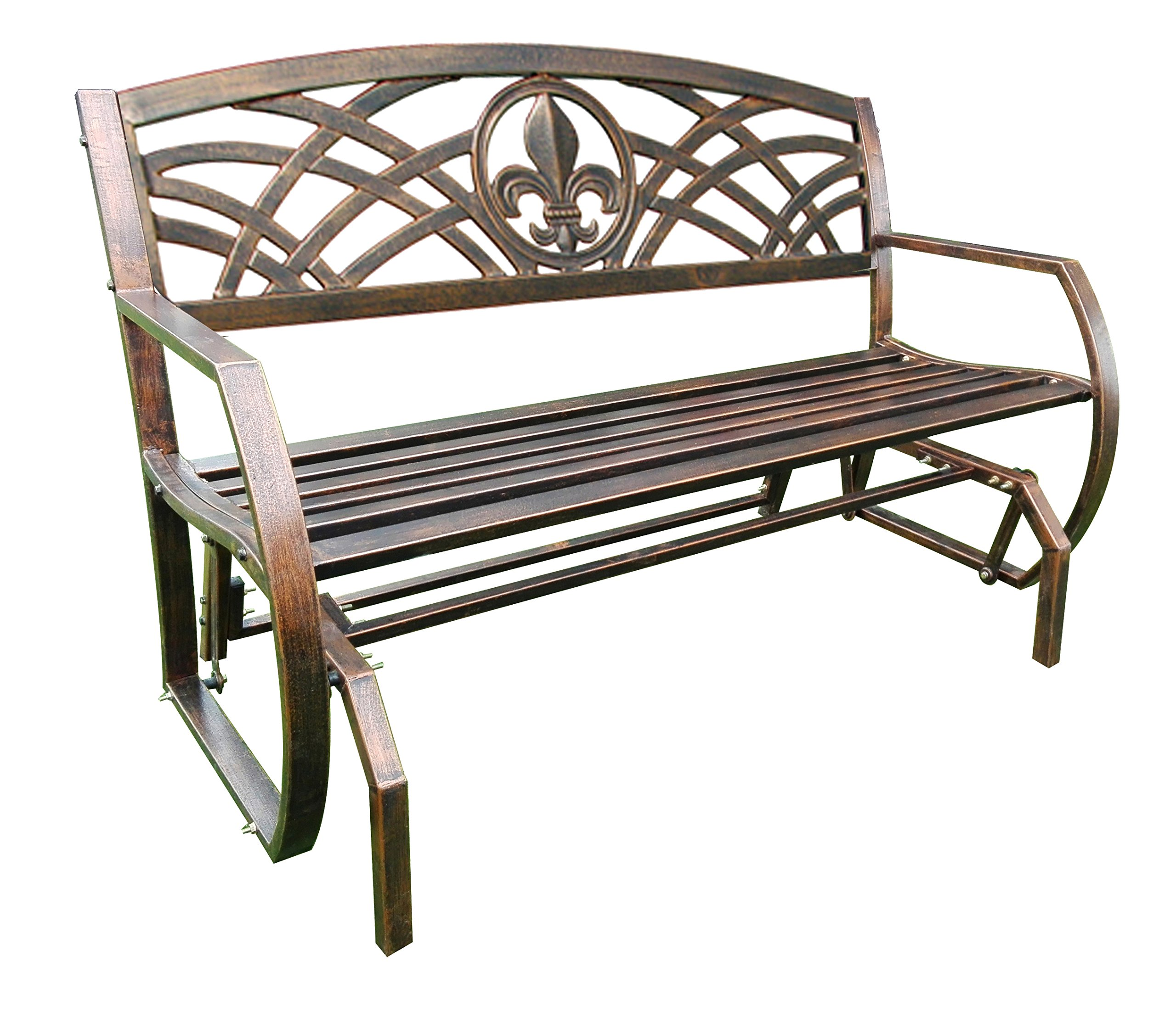 Leigh Country TX 94063 Fleur De Lis Double Glider by Leigh Country