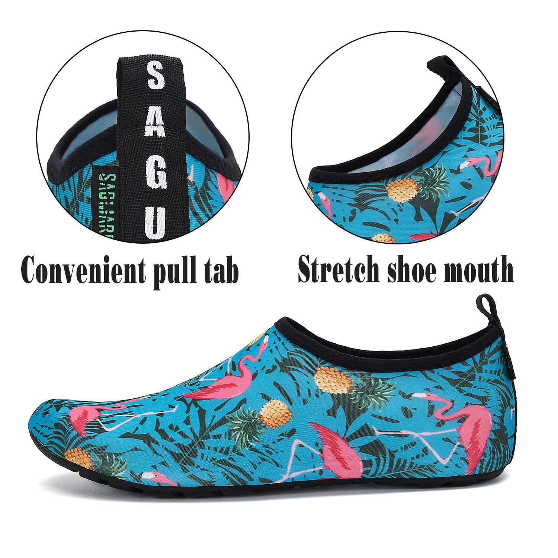 Mens Womens Quick Dry Barefoot Beach Pool Swim Diving Surf Aqua Sports Walking Yoga Water Shoes