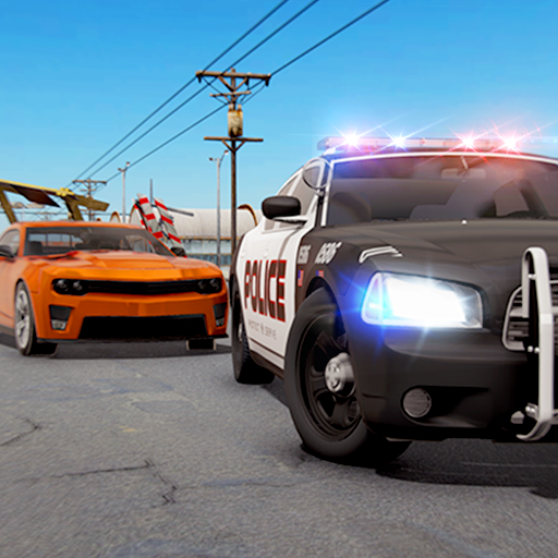 Crime Town Police Car Chase Vs Gangsters : Police Car Driving Pro Robber Escape Rush Simulator Best Free Game 2019 (Best Android Casual Games 2019)