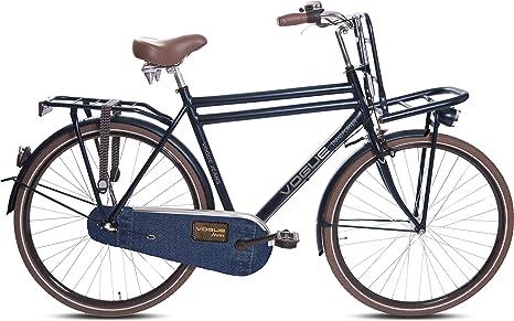 Bicicletta Olandese Da Uomo 7112 Cm Transporter Jeans Blu 57 Cm