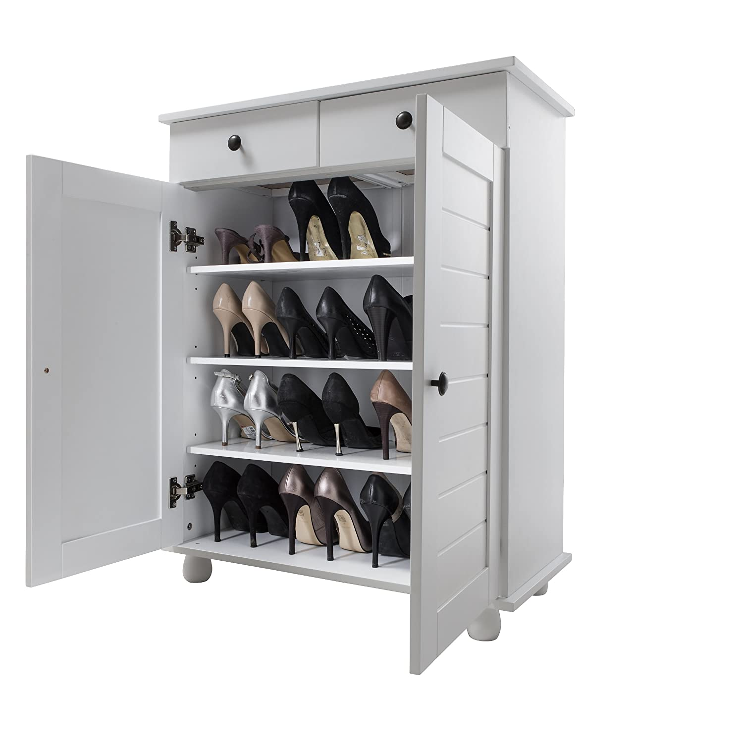 Shoe Storage Cabinet Deluxe with Storage Drawer Heathfield in ...
