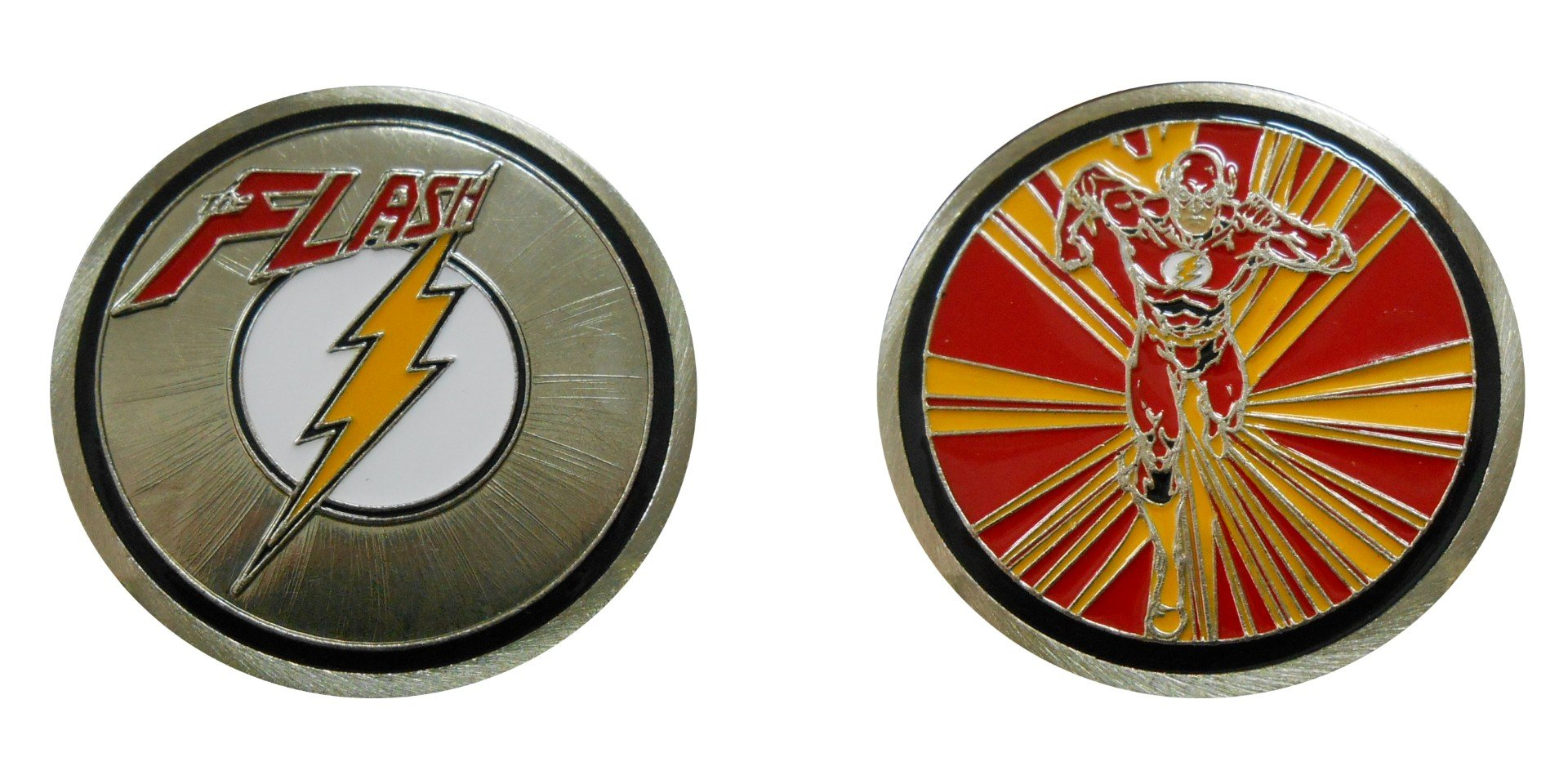 Flash - Character Collectible Challenge Coin / Logo Poker / Lucky Chip
