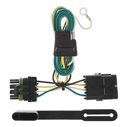 amazon com: curt 55315 vehicle-side custom 4-pin trailer wiring harness for  select chevrolet, gmc pickup trucks: automotive