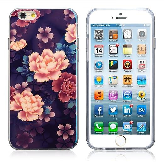 Amazon.com: Iphone 6s Case,Johncase [Floral Print Series] Soft TPU ...