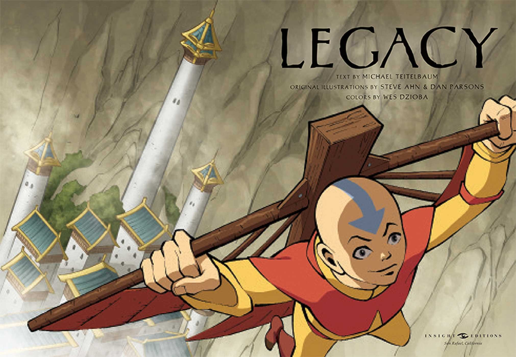 Amazoncom Avatar The Last Airbender Legacy Insight Legends