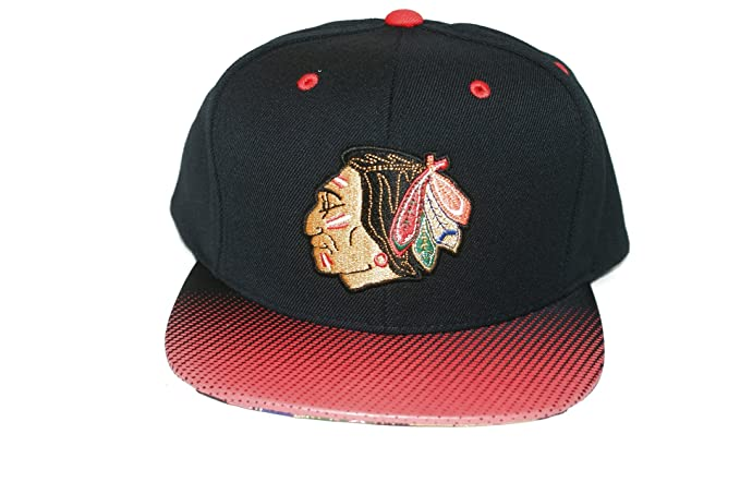 419f170af3992 Mitchell   Ness Chicago Blackhawks Stop On A Dime Snapback Cap NZ57Z Basecap