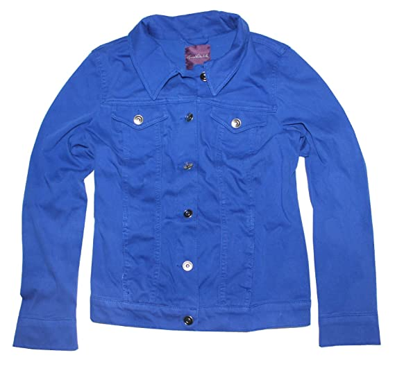 7fb4507fcb9 Gloria Vanderbilt Women s Roxy Knit Denim Jacket at Amazon Women s ...