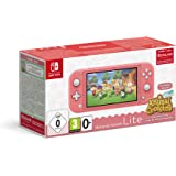 Nintendo Switch Lite Coral + Animal Crossing New Horizons + 3 meses Nintendo Shop Online