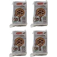 """Dolciando: """"Crostatine al Cacao"""" Cocoa Cream Trats - 4 Packs of 6 - 24 Tarts Total - [ Italian Import ]"""
