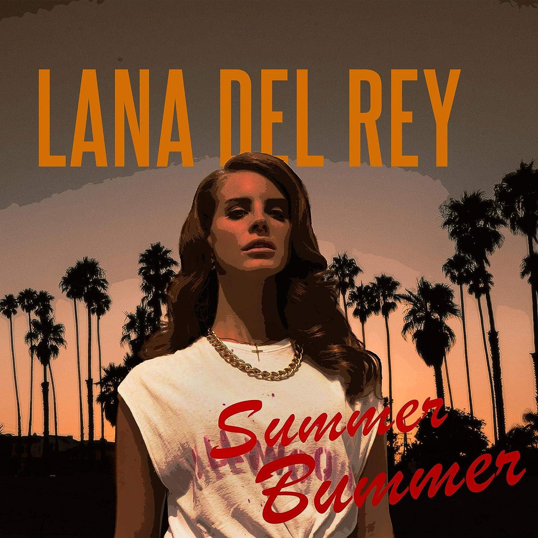 Amazon Com Lana Del Rey Summer Bummer Poster Art Gift Handmade