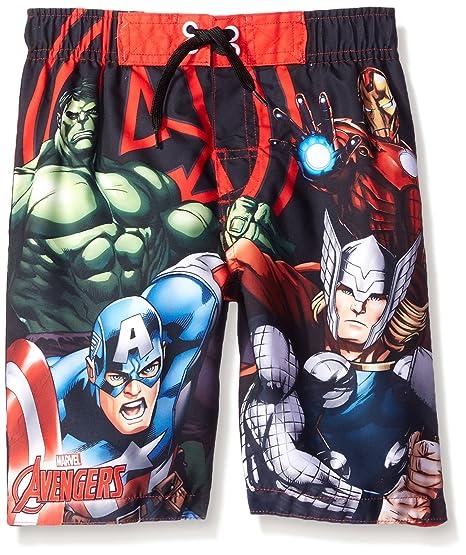 Marvel Boys' Avengers Trunk, Red/Black, 6/7