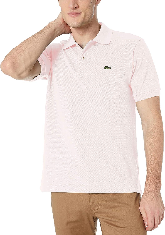 beige lacoste polo shirt