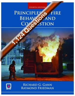 Principles of Fire Behavior and Combustion, 4th edition Exam Bank - Online Code [Online Code]