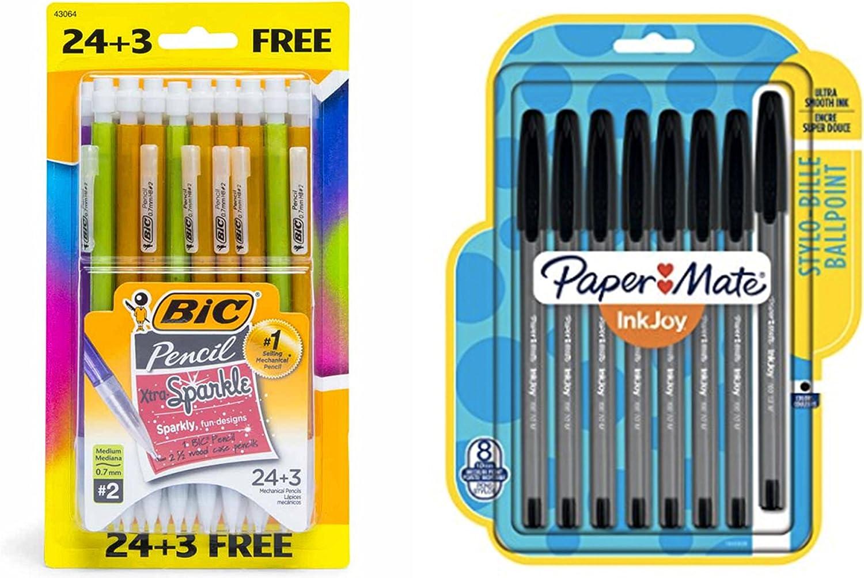 Multicolor Bic xtra-sparkle Glitter portaminas 27-pack cartucho ...