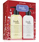 Philosophy Fresh Cream Hand Care Set (8oz each)